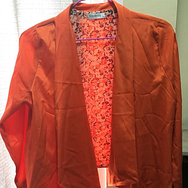 F&H Orange Blazer