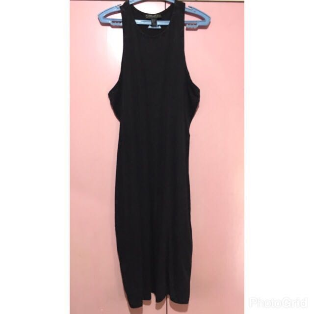Forever 21 Black And Grey Dress Size XL