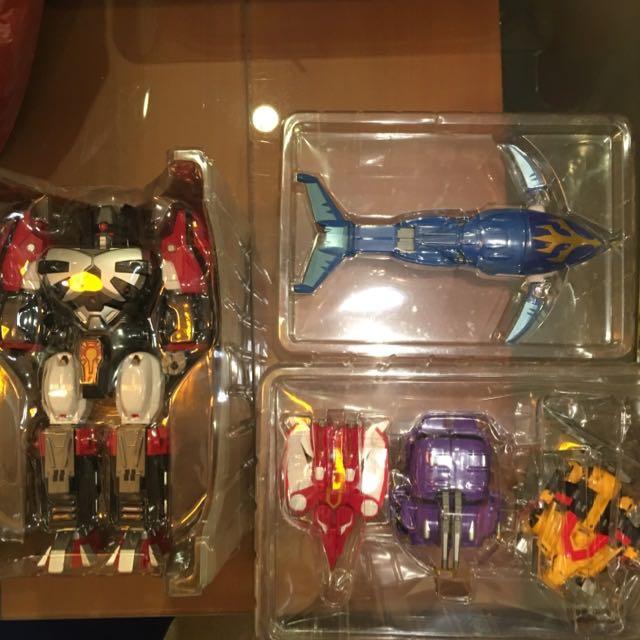 Gransazer DX Gasshinjo Daisazer Bandai, Toys & Games, Bricks