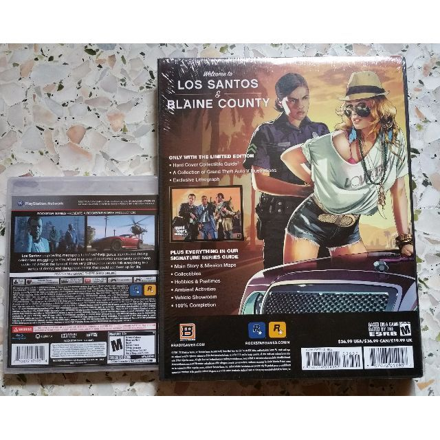 GTA V PS3 game and Guide Book, Home Appliances, TVs