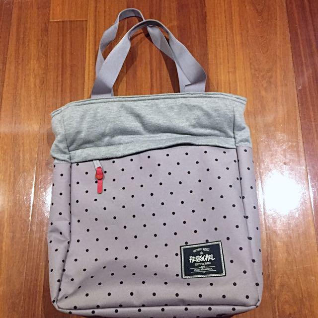 Herschel Supply Co x Stussy Harvest Tote Bag Grey