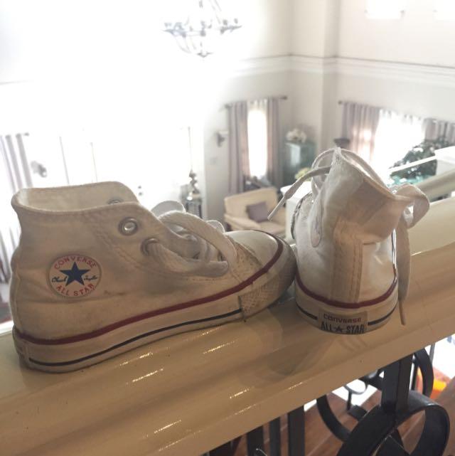 High Cut Converse Kids (NEEDS CLEANING)