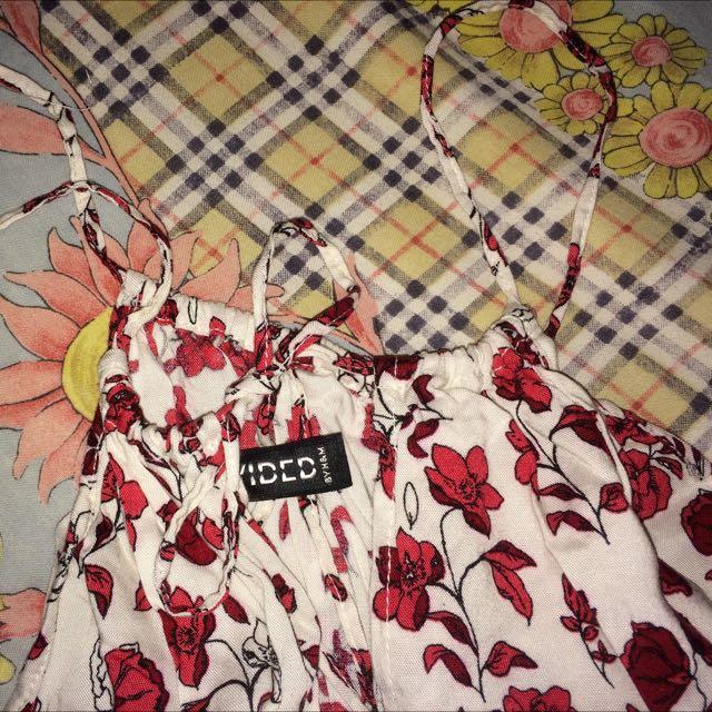 H&M Flowers Jumpsuit