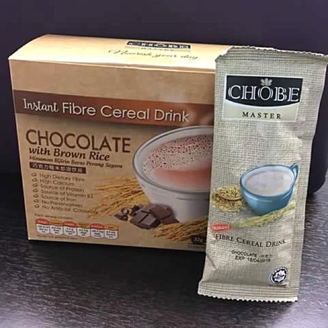 Instant Cereal Hot Chocolate With Brown Rice 10 X 32g Sachets