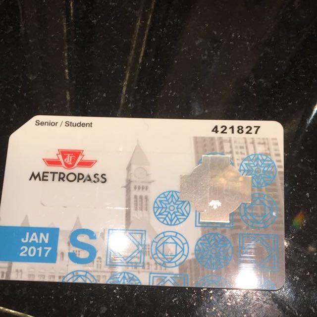 January 2017 Metropass