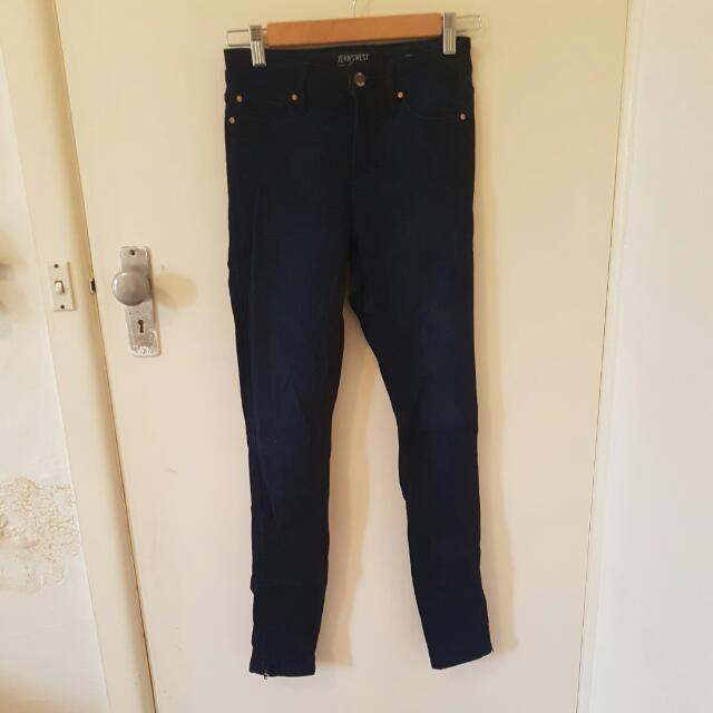Jeanswest Prima Denim Indigo Jeans Size 8