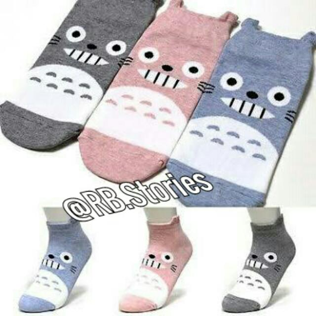 "Korean Sock "" Totoro"" Series"