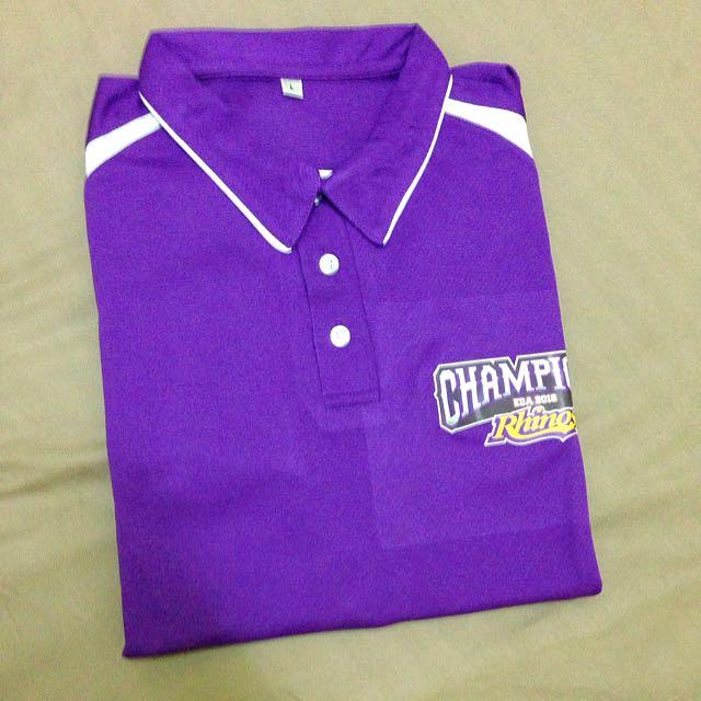犀牛隊球衣紫色L