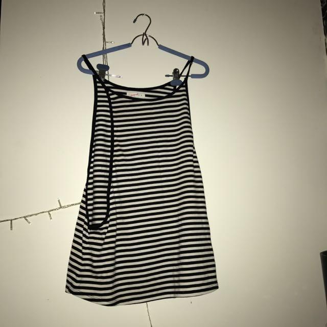 Large Striped Singlet