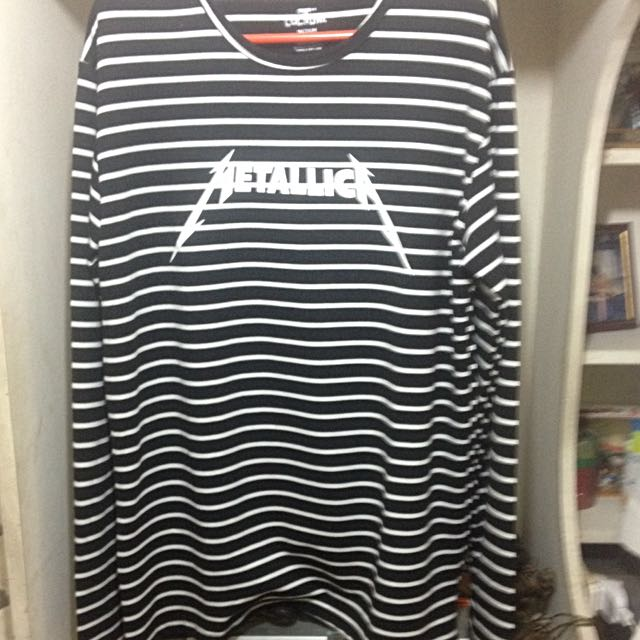 Limited Edition Stripe Metallica Long sleeve/Sweater