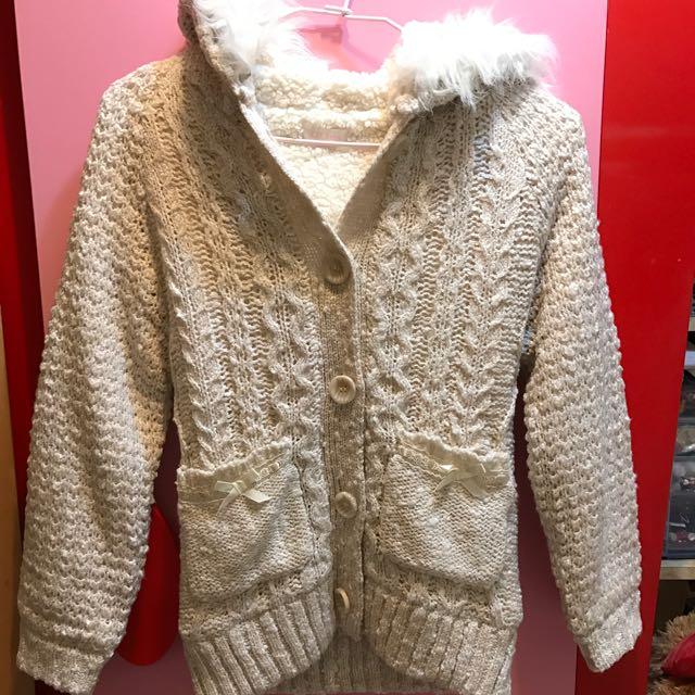 Liz Lisa毛毛舖棉外套