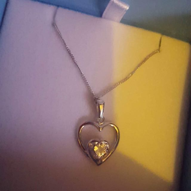 Love Heart Necklace From Bevilles