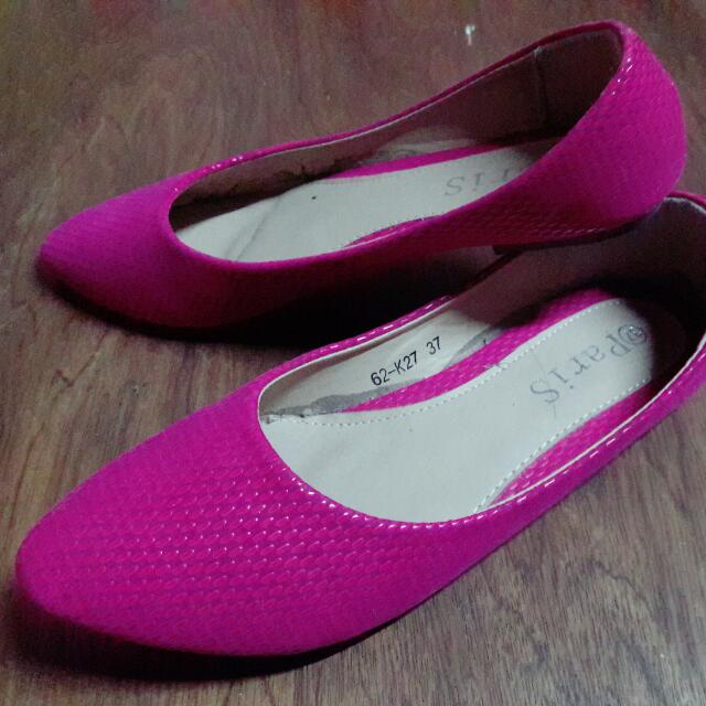 Medium Pointed Hot Pink Shoes
