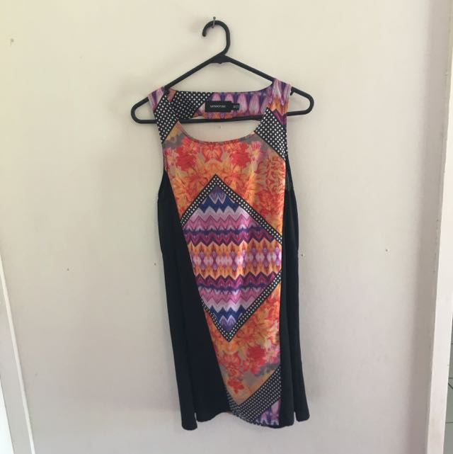 Minkpink Multicolour Shift Dress