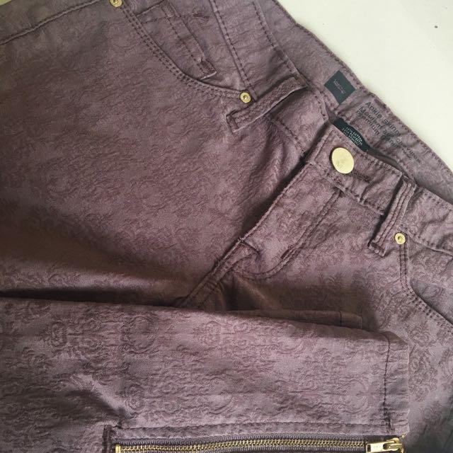 Mossimo Ankle Zipper Jeans Etude TonyMoly Zara Mango Missha