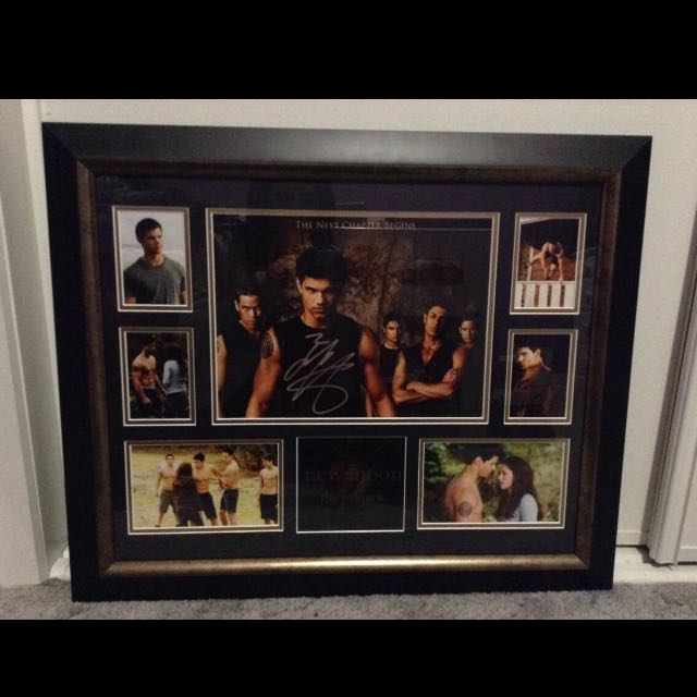 New Moon Autographed Frame