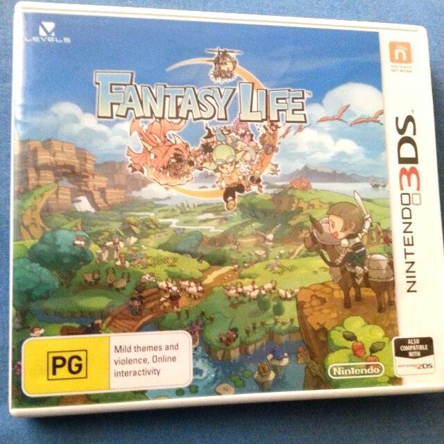 Nintendo 3DS Fantasy Life Video Game
