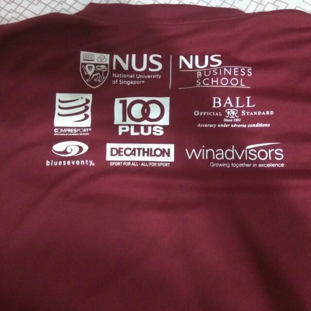 ff0d8be23 NUS Bizard Charity Run T-shirt (M Size), Sports, Sports Apparel on ...