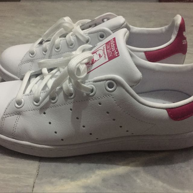 Original Adidas Stan Smith pink tab