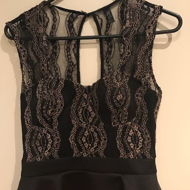 Peplum Dress, Size 10