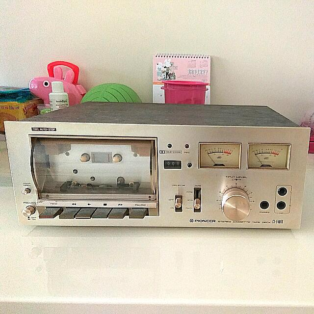 Pioneer CT-F4040 Vintage Stereo Cassette Tape Deck