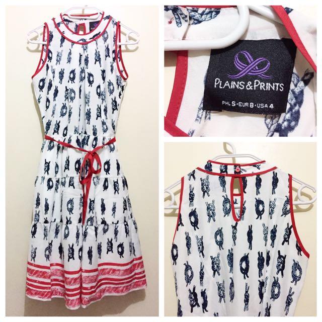 Plains And Prints Saint Tropez Nautical Dress