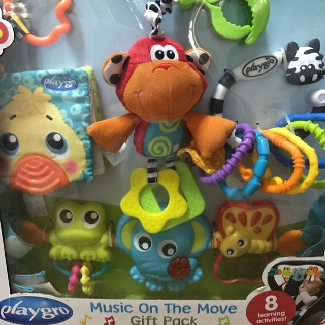 Playgro Music On The Move Gift Pack, Babies & Kids, Toys