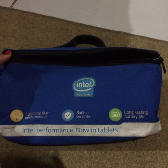 #TisGratis Pouch Intel
