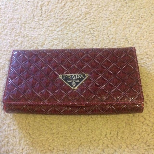 Prada Style Wallet