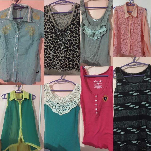 8 Tops For Only 250