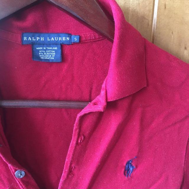 Ralph Lauren Women's Polo Sz Small