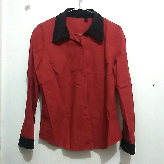 Red n Black Shirt
