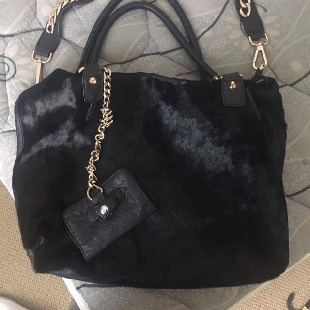 Sass And Bide Fur Handbag