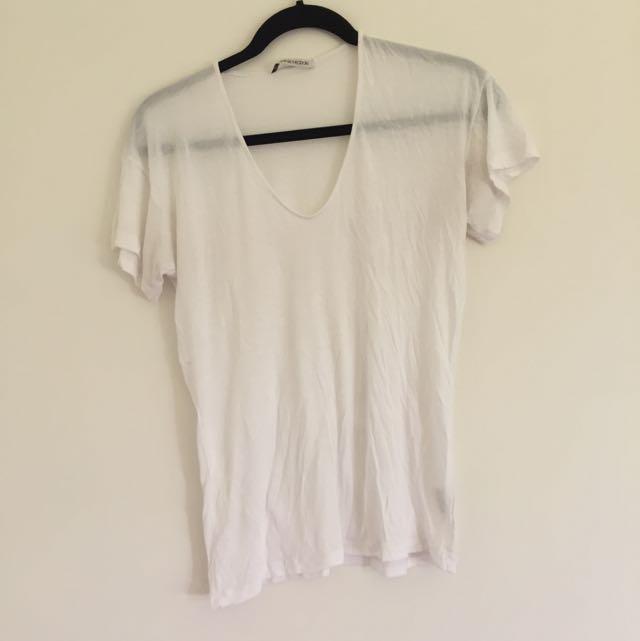 Scanlan Theodore White Tshirt Size SM