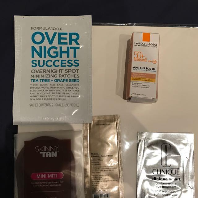 Skin Care Sampler Pack