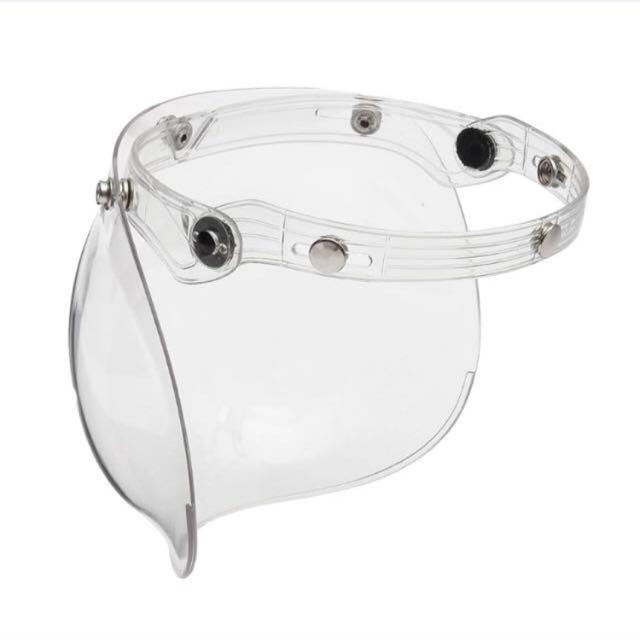 Snap vintage helmet Bubble Visor