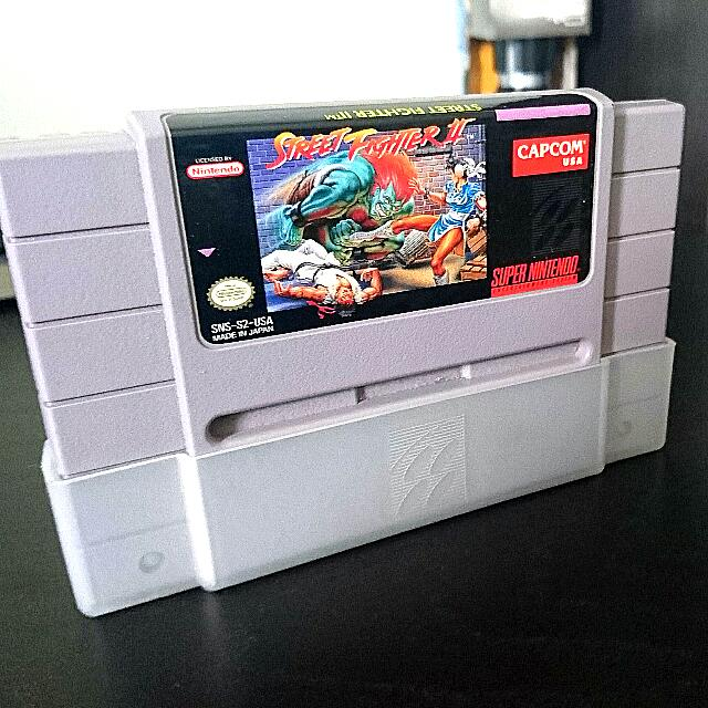 SNES: Street Fighter 2