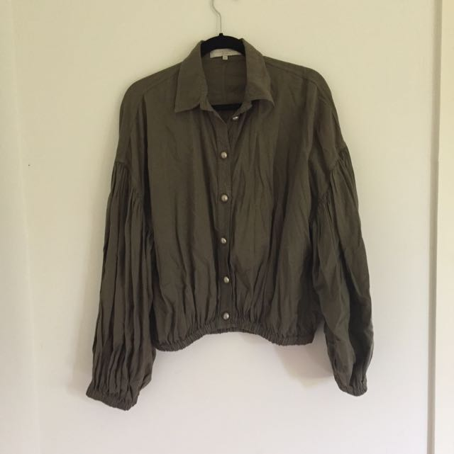 Stella McCartney Billow Sleeve Shirt Size 42
