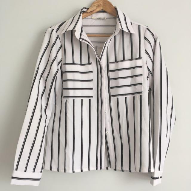 Stripe Shirt Size 8