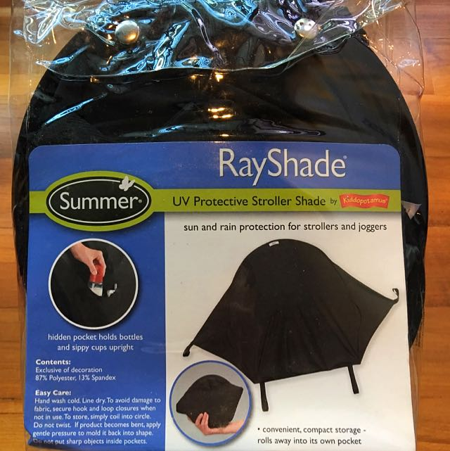 13df9b3c12b Summer Infant Rayshade By kiddopotamus (UV Protective Stroller Shade ...