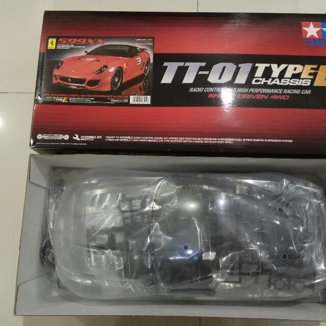 Tamiya TT01E Ferrari 599GTB 1/10 RC