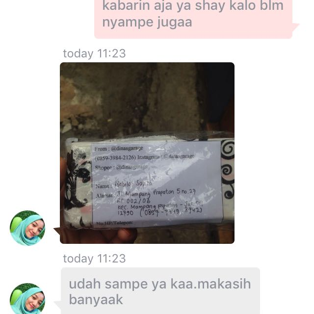 TESTIMONIAL FROM CUSTOMER❤️