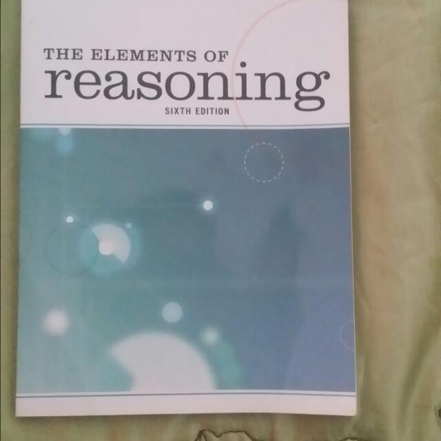 The Elements of reasoning by Ronald Munson And Andrew Black