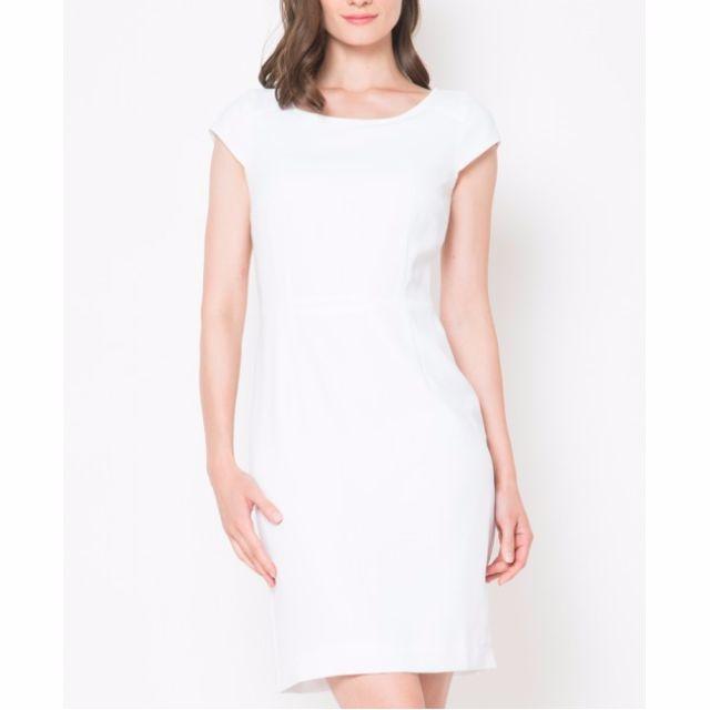 The Executive White Dress