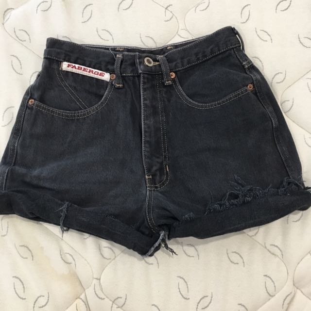 Thrift Shop Black High Waisted Denims