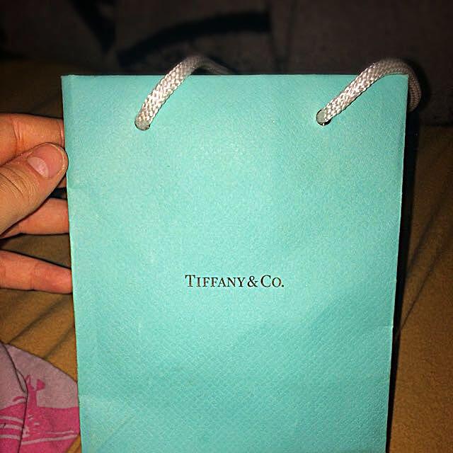 Tiffany&Co.  Blue Heart Bracelet