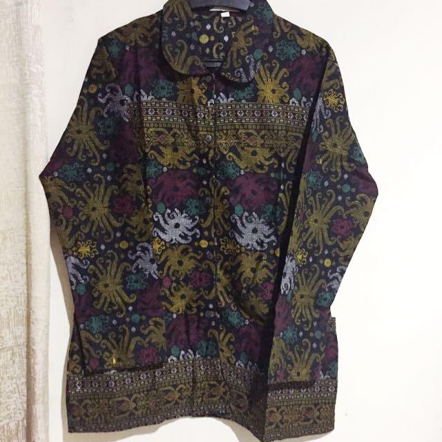 (DISKON) Top Batik