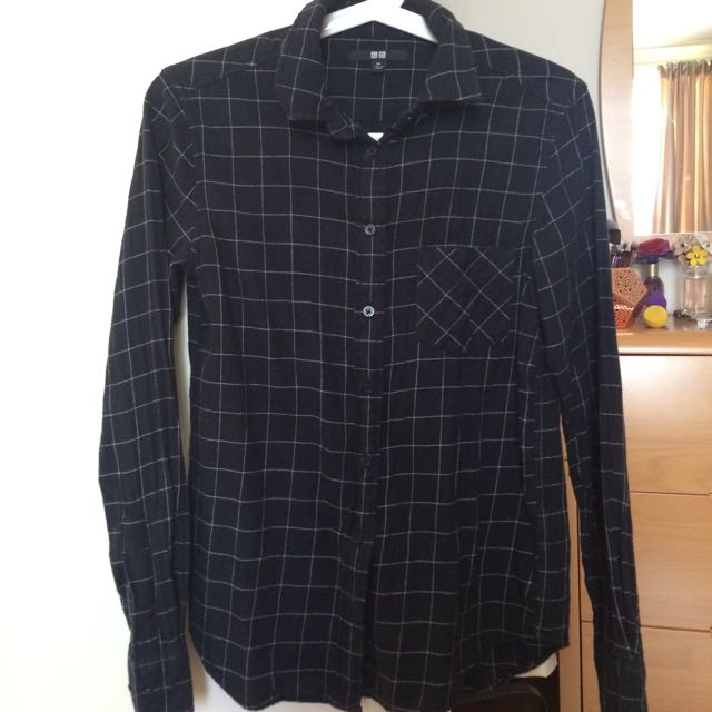 Uniqlo Size S Flannel Shirt