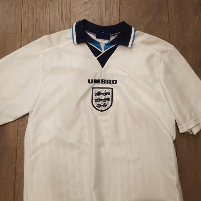 Vintage Early 90s England Football Jersey