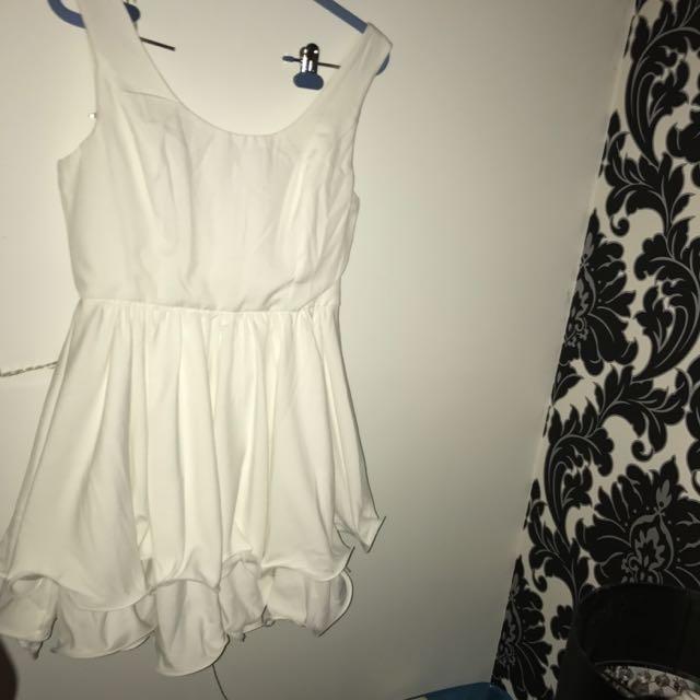White Dress- Angel Bibo Size 12